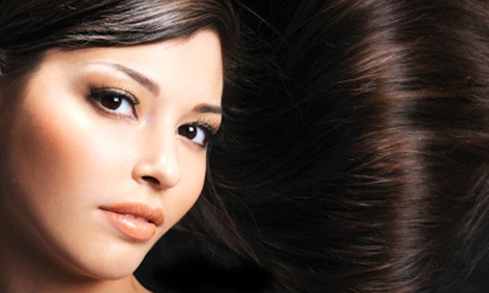 Rodney Mitchell Salon - Hillsboro West End: Cut, Partial Highlights, and Deep-Conditioning Treatment, or Keratin Treatment at Rodney Mitchell Salon (Up to 67% Off)