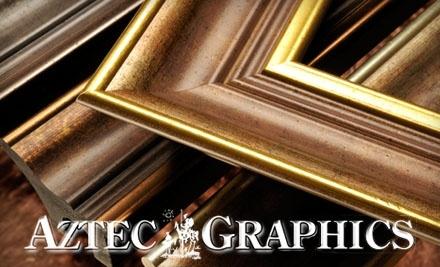 $100 Groupon to Aztec Graphics - Aztec Graphics in San Diego