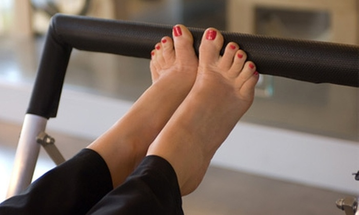 Westlake Pilates - Davenport Ranch: Two Private Pilates Sessions, or Five Group Equipment Classes at Westlake Pilates (Up to $200 Value).