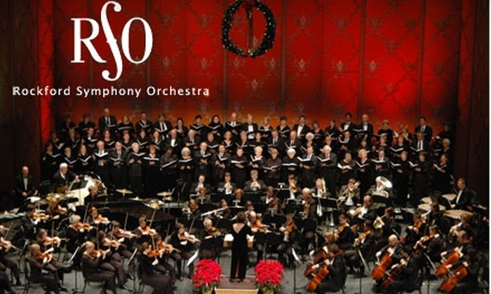 Rockford Symphony Orchestra - Downtown Rockford: Half Off Ticket to Your Choice of Three Performances at the Rockford Symphony Orchestra (Up to $56 Value). Multiple Seating Options Available.