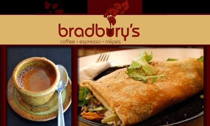 Bradbury's - Capitol: $3 for $8 Worth of Coffee, Crêpes, and More at Bradbury's