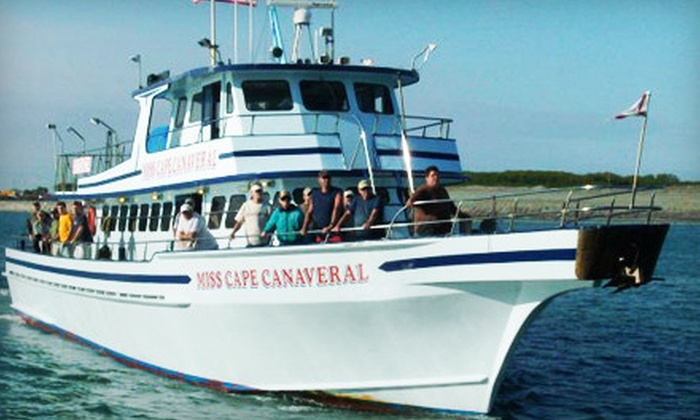 Miss Cape Canaveral Fleet - Cape Canaveral: All-Inclusive Shark-Fishing Trip or Half-Day or Full-Day Fishing Trip from Miss Cape Canaveral Fleet (Up to 53% Off)