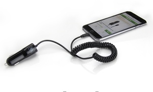 Delton Apple-Certified Car Charger for iPhone: Delton Apple-Certified Car Charger