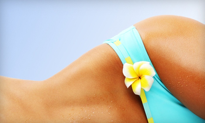 Sundeck Tanning Salon - Shroyer Park: 2, 5, or 10 Spray-Tanning Sessions at Sundeck Tanning Salon (Up to 81% Off)