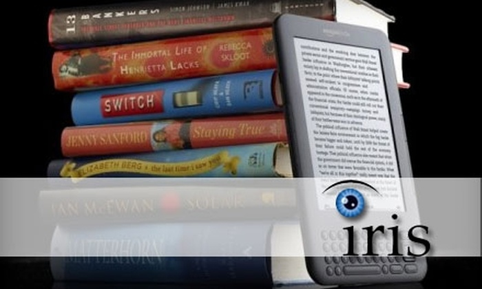 The Iris Organization - Brookfield: $70 for a Speed-Reading Class from The Iris Organization ($199 Value)