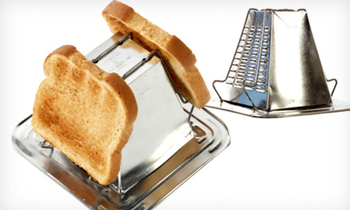 Genuine Pyramid Toaster in Original Tin: $15 for a Jacob Bromwell Genuine Pyramid Toaster in Original Tin ($29.99 Value)