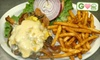 The Lookout Bar and Grill - Brooklyn Park - Maple Grove: $5 for a Lookout Humpty Dumpty Burger or a Maple Grove Slam Burger at The Lookout Bar and Grill in Maple Grove ($9.99 Value)