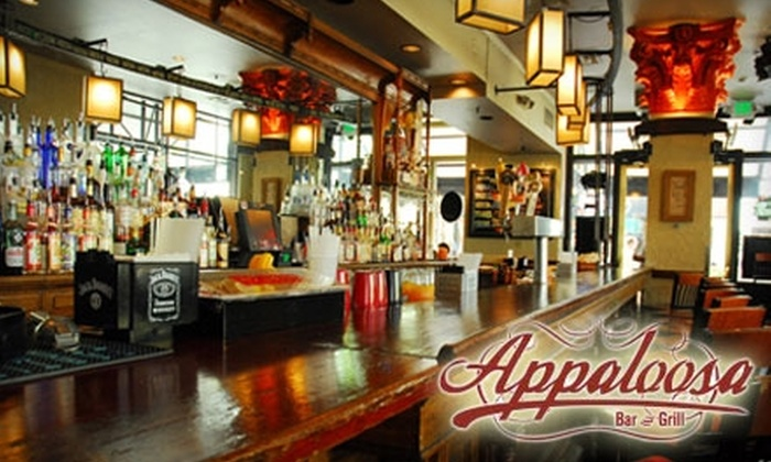 Appaloosa Grill - Central Business District: $20 for $40 Worth of American and International Fare and Drinks at Appaloosa Grill