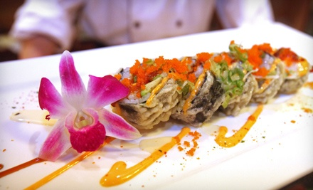 $30 Groupon to Orchid Asian Bistro - Orchid Asian Bistro in Kenmore
