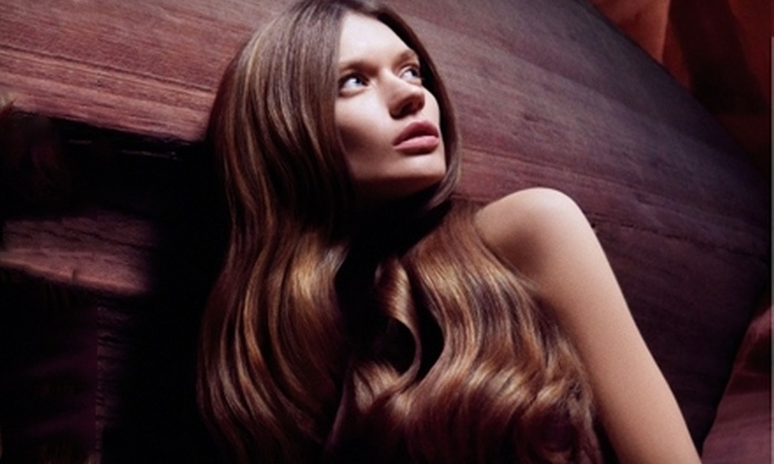 Athena Salon Spa - Back Bay: Hair and Spa Services at Athena Salon Spa. Three Options Available.