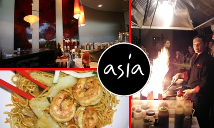 Asia - Mesa: $12 for $25 Worth of Asian Cuisine and Drinks at Asia