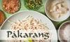 $10 for Thai Fare at Pakarang Restaurant