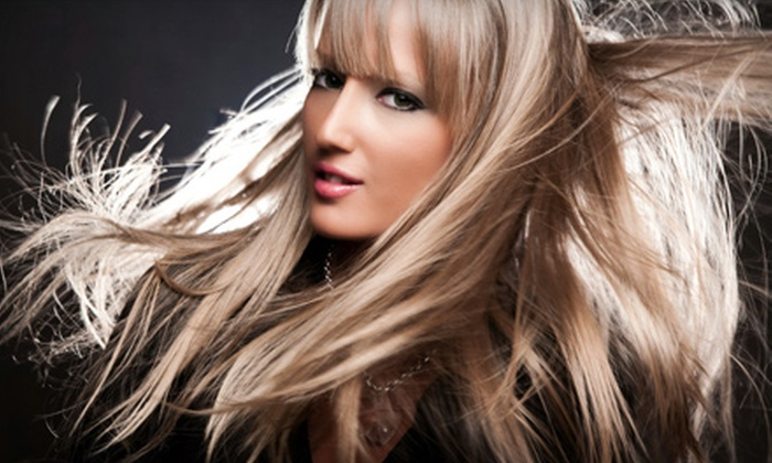 Beleza Couture Studio - Durham: Haircut and Blow-Dry or Brazilian Blowout at Beleza Couture Studio