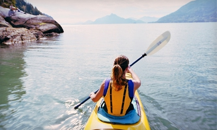 Bass Lake Water Sports - Bass Lake: $22 for Five Hours of Paddleboard, Canoe, Kayak, or Paddleboat Rental at Bass Lake Water Sports ($50 Value)