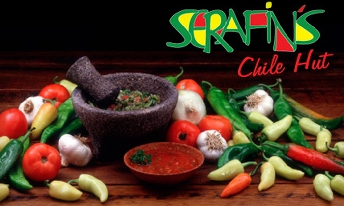 Serafin's Chile Hut - Nob Hill: $7 for $15 Worth of New Mexican Cuisine and Drinks at Serafin's Chile Hut