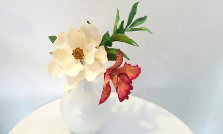 Curso de decoración de tartas fondant o de flores con pasta de goma por 19.90 € o ambos por 34,90 €