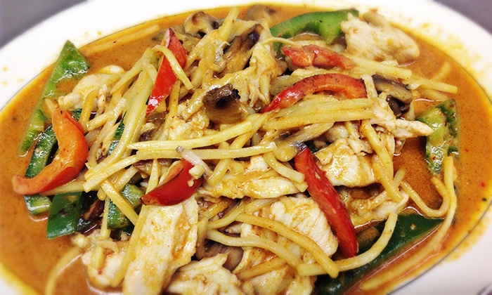Bangkok Cuisine - Royal Oak: $8.75 for $15 Worth of Thai Food at Bangkok Cuisine