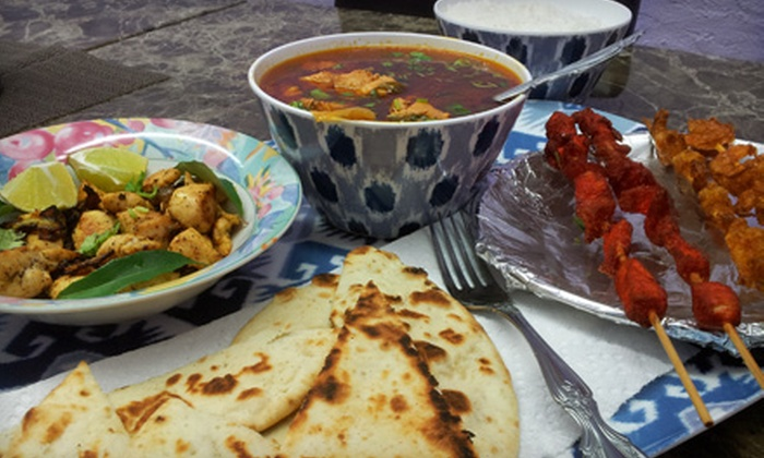 Curry in a Hurry - North Little Rock: Indian Meal for Two or Four at Curry in a Hurry in North Little Rock (Up to 51% Off)