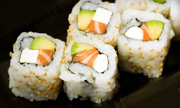 Yorokobi Sushi - Romeo: Sushi Dinner for Two or Four at Yorokobi Sushi in Romeo