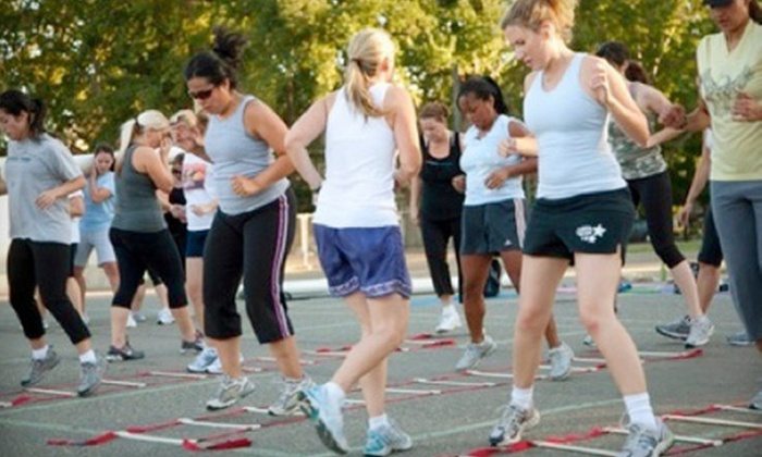 Adventure Boot Camp Downtown Sacramento - Central Sacramento: $35 for Eight Boot-Camp Classes at Adventure Boot Camp ($99 Value)