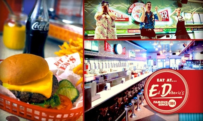 Ed Debevic's - Chicago: $5 for $10 Worth of Diner Eats, Drinks, and Attitude at Ed Debevic's