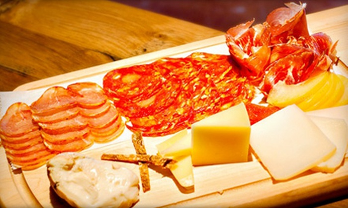 Rittergut Wine Bar Restaurant & Social Club - The Loop: $27 for Wine Flights for Two and Cheese-and-Charcuterie Plate at Rittergut Wine Bar Restaurant & Social Club (Up to $54 Value)