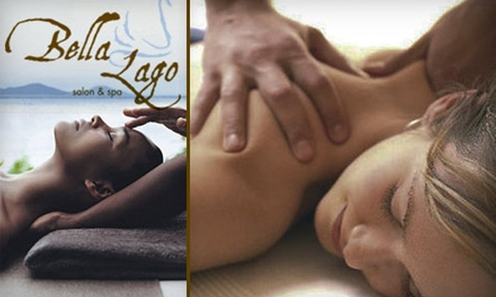Bella Lago Salon & Spa - Lakeside Park: $30 for a One-Hour Custom Massage or Facial at Bella Lago Salon & Spa in Mooresville ($65 Value)