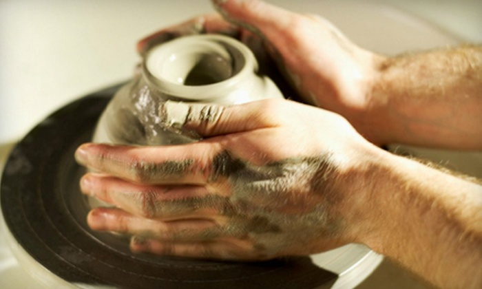 Craft Gallery - Colonial Estates: Pottery-Painting Session, Fused-Glass-Jewelry Class, or Pottery-Wheel Class at Craft Gallery (Up to 51% Off)