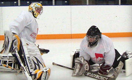 2 Semi-Private Goaltending Lessons and 1 T-shirt for Students Ages 7-9 (a $90 value) - Matt Smith Goaltending in Kitchener