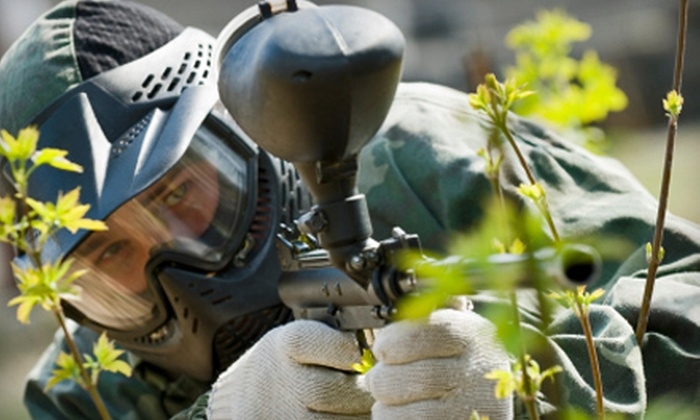 Castle Rock Paintball - Quenemo: $20 for a Paintball Outing for Two at Castle Rock Paintball ($55 Value)