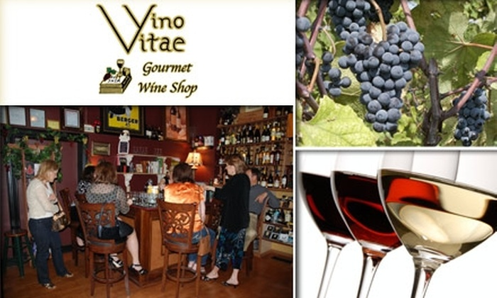 Vino Vitae - Lafayette Square: $12 for Your Choice of Wine Class at Vino Vitae ($32 Value)