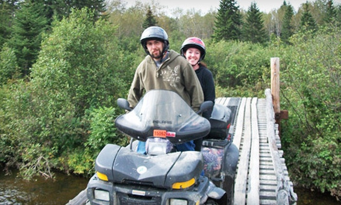 Northern Maine ATV Tours - Fort Kent: $99 for a Half-Day Guided ATV Tour with Gas and Beverages from Northern Maine ATV Tours in Fort Kent (Up to $230 Value)