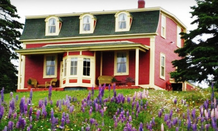 George House Heritage Bed and Breakfast - Dildo: One- or Two-Night Package for Two at George House Heritage Bed and Breakfast in Dildo (Up to 60% Off)