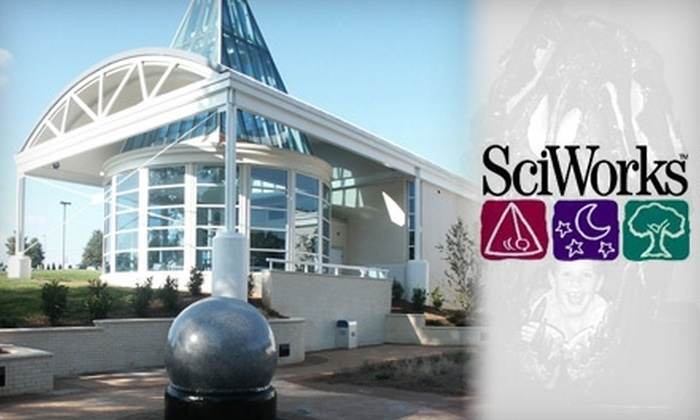SciWorks Science Center - Winston-Salem: One-Year Membership at SciWorks Science Center (Up to $120 Value). Choose From Five Membership Options.