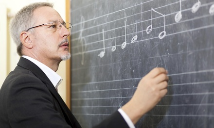 30-Minute Musical Instrument Lesson at Texas Guitarville Music School (54% Off)