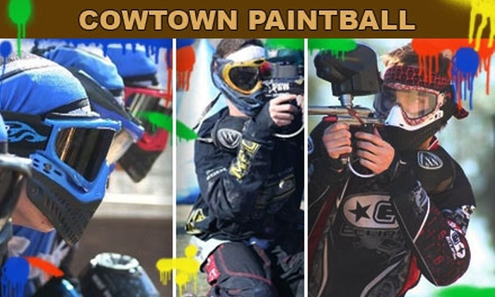 Cowtown Paintball - Phoenix: $20 for an All-Day Paintball Pass at Cowtown Paintball