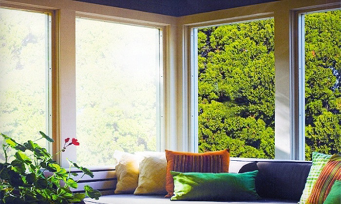 Sun Block, Inc - Midlothian: Residential Window Tinting from Sun Block, Inc (Up to 60% Off). Two Options Available.