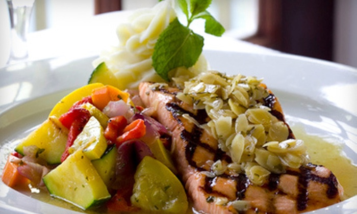 Tavern By The Sea - North Kingstown: Contemporary Fare and Drinks at Tavern By The Sea in North Kingstown (Up to 56% Off). Two Options Available.
