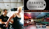 Barry's Bootcamp - Hillcrest: $40 for 5 Fitness Classes at Barry's Bootcamp ($95 Value)