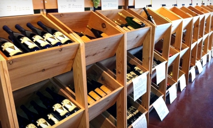Village Vintner Winery - Carpentersville: $15 for a Wine Tasting and $30 Worth of Wine Purchases at Village Vintner Winery in Carpentersville ($37 Value)