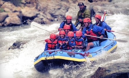 Half-Day Whitewater Rafting Package in Brown's Canyon (a $111.10 value) - Buffalo Joe's Whitewater Rafting in Buena Vista