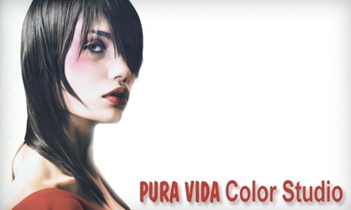 Pura Vida Color Studio - Bach: $25 for $50 Toward Salon Services and a 20% Discount on Retail Products at Pura Vida Color Studio