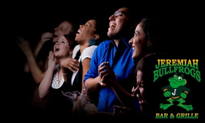 Jeremiah Bullfrogs Live - McAlister Parkway: $5 for Two Tickets to Comedy Show at Jeremiah Bullfrogs Live