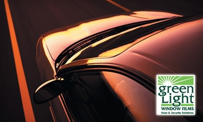 Green Light Window Films - Lee's Summit: $99 for One Complete Automotive Window Tint at Green Light Window Films ($239 Value)