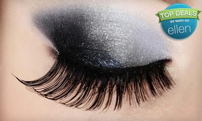 Lash Addictx - Dallas: Eyelash Extensions, Eyelash Extensions Plus Two Fills, or Lash-Extension Party for Four from Lash Addictx (Up to 68% Off)