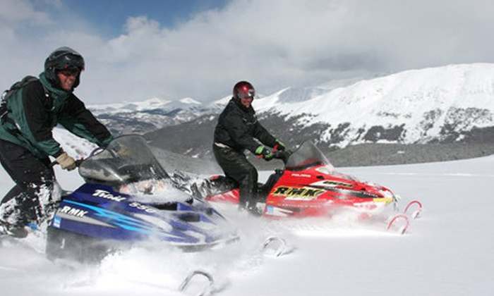 Monarch Snowmobile Tours and Rentals - Salida: $60 for a Three-Hour Snowmobile Tour from Monarch Snowmobile Tours and Rentals in Garfield ($120 Value)