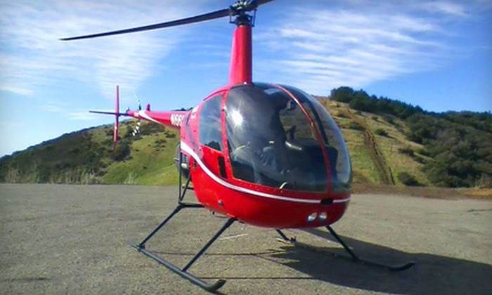 Southern California Helicopter - Long Beach Municipal Airport: $95 for a Helicopter-Pilot Training Class and Flight from Southern California Helicopters in Long Beach ($199 Value)