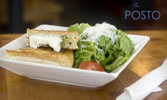 Il Posto Cafe - Uptown: $10 for $20 Worth of Italian Fare and Drinks at Il Posto Italian Cafe