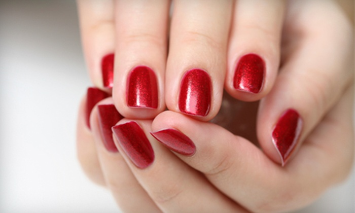 Polished Nail Boutique - Mystic River: Shellac Manicures at Polished Nail Boutique in Somerville