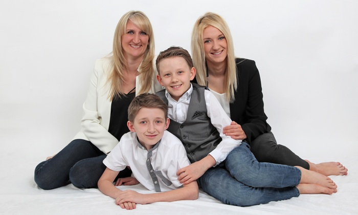 VARNEY PHOTOGRAPHERS - York: Family Photoshoot With Prints for £9 at Varney Photographers (95% Off)